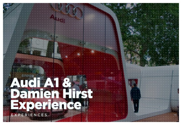 Audi A1 & Damien Hirst Experience