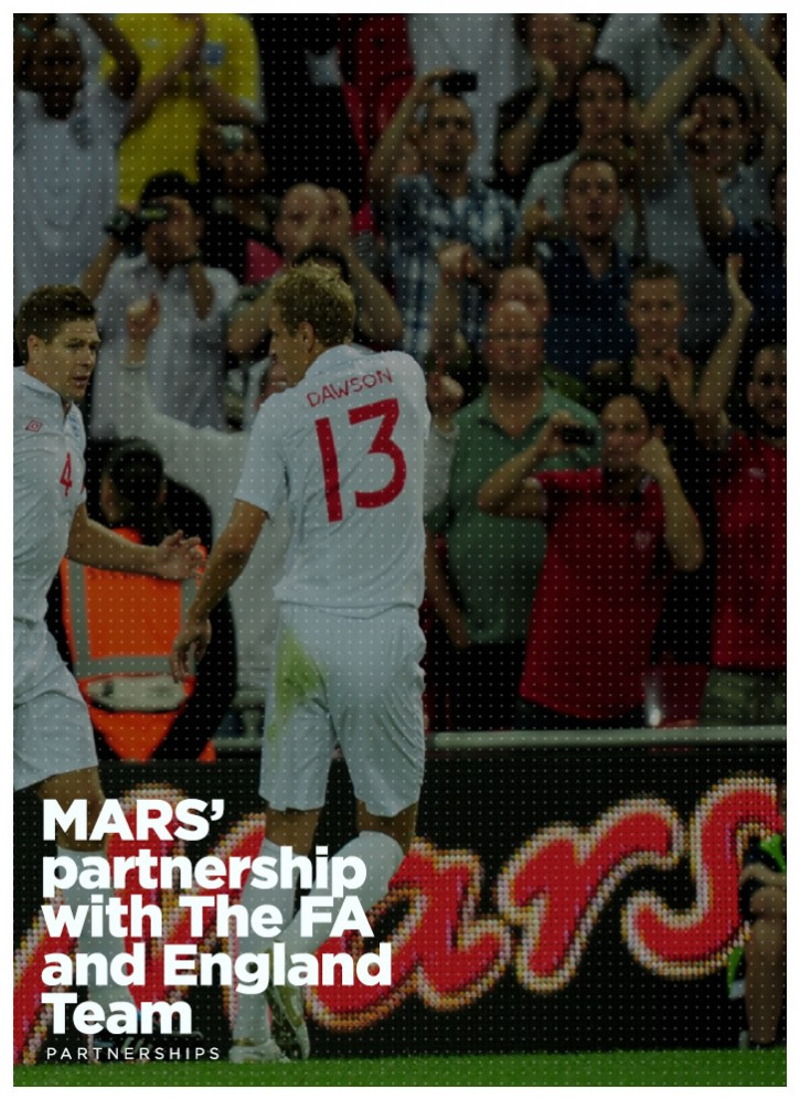 MARS' partnership with The FA and England Team