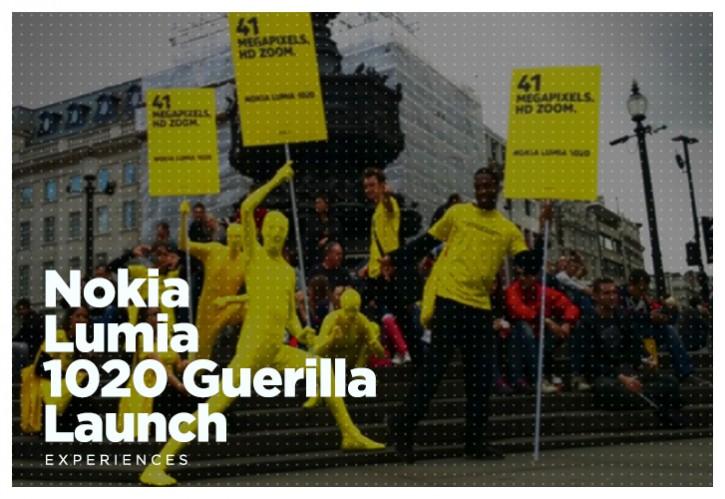 Nokia Lumia 1020 Guerilla Launch
