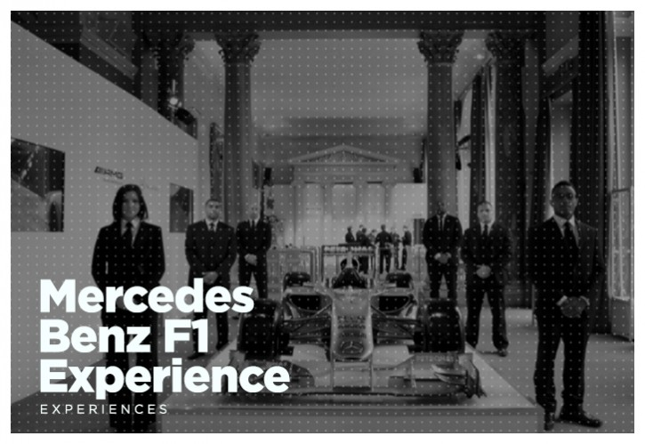 Mercedes Benz F1 Experience